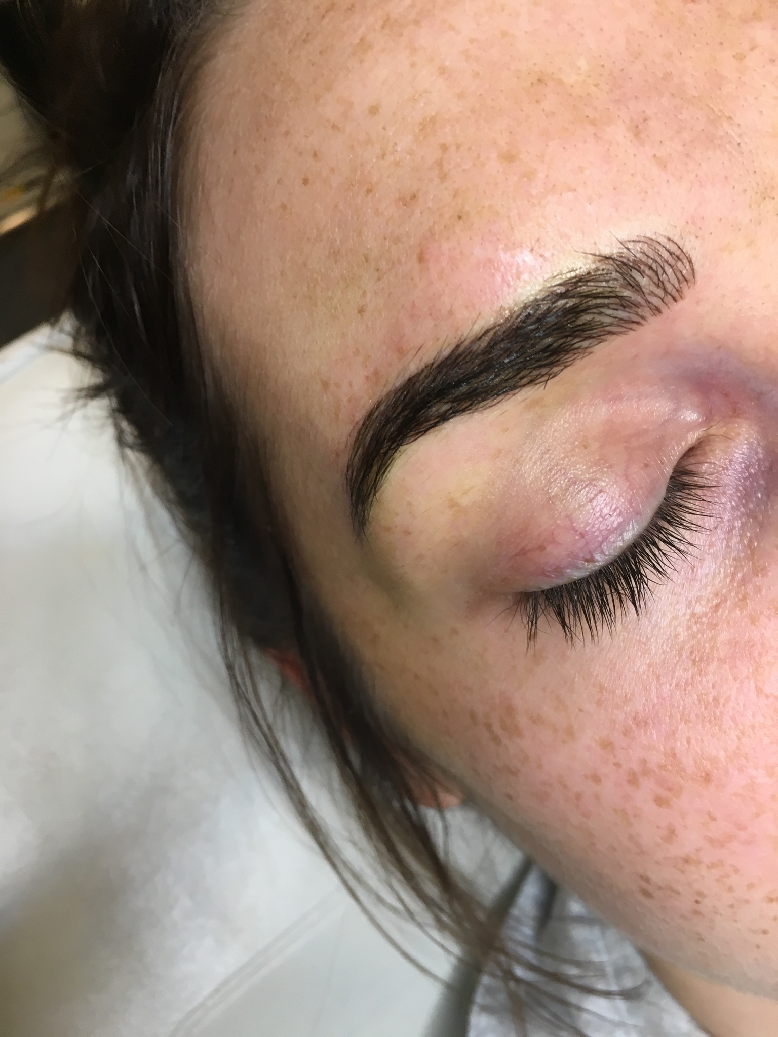 Microblading Cincinnati after pic